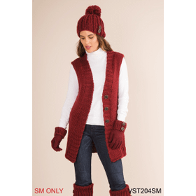 Fireside Vest - S/M (4 pc. ppk.)