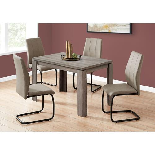 "DINING TABLE - 32""X 48"" / DARK TAUPE"