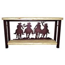 See Details - 4 Cowboy's Iron Sofa