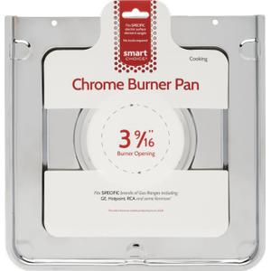 FrigidaireSmart Choice Square Chrome Burner Pan, Fits Specific