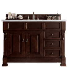 "View Product - Brookfield 48"" Single Bathroom Vanity-Burnished Mahogany"