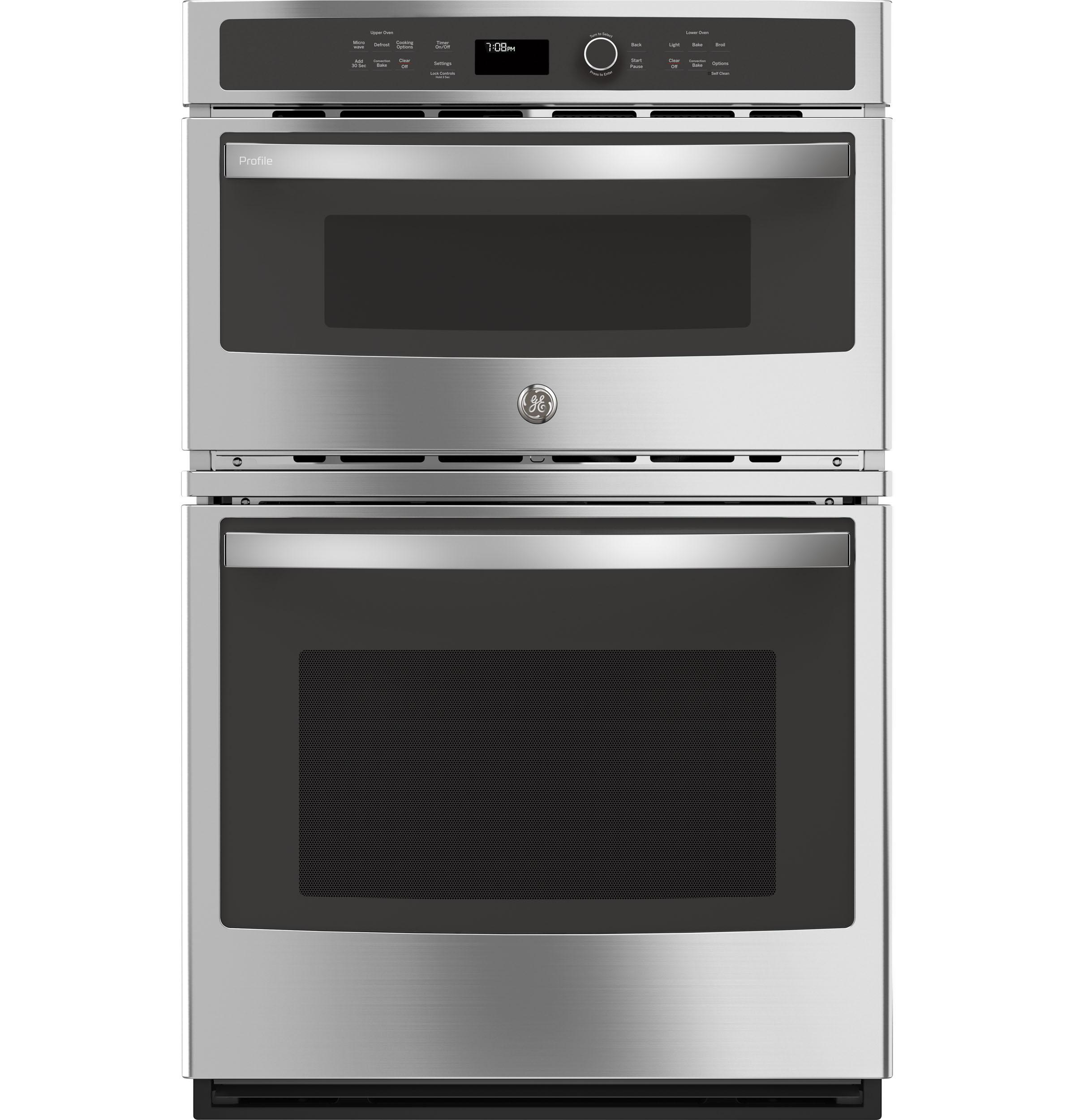 """GE Profile27"""" Built-In Combination Convection Microwave/convection Wall Oven"""