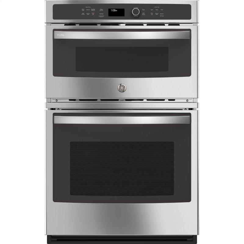 """27"""" Built-In Combination Convection Microwave/Convection Wall Oven"""