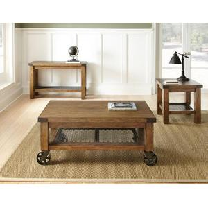 Hailee Cocktail Table w/Casters