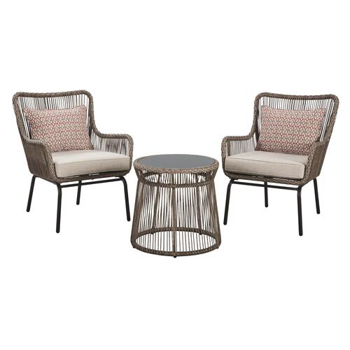 Cotton Road 3-piece Dining Table Set