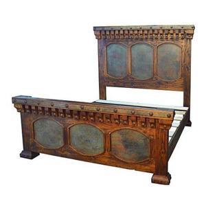 King Capitel Copper Bed
