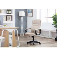 1127 TAN Fabric Office Chair
