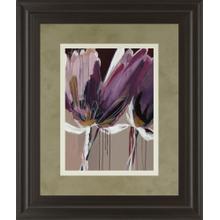 """Aubergine Splendor Il"" By Angela Marita Framed Print Wall Art"