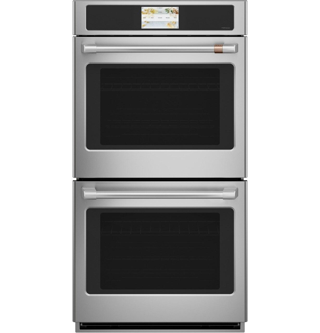 """Cafe Appliances27"""" Smart Double Wall Oven With Convection"""