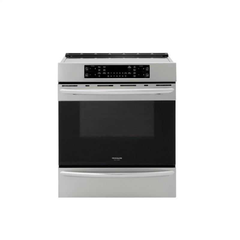 Gallery 30'' Front Control Induction Range with Air Fry