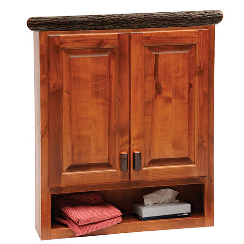 Toilet Topper Cabinet - Natural Hickory