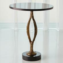 Pod Accent Table-Antique Gold