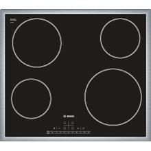 See Details - Serie  6 Electric Cooktop 60 cm Black, surface mount with frame NET5466SC