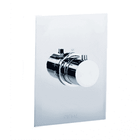 Techno - Thermostatic Control Valve Trim - Brushed Nickel