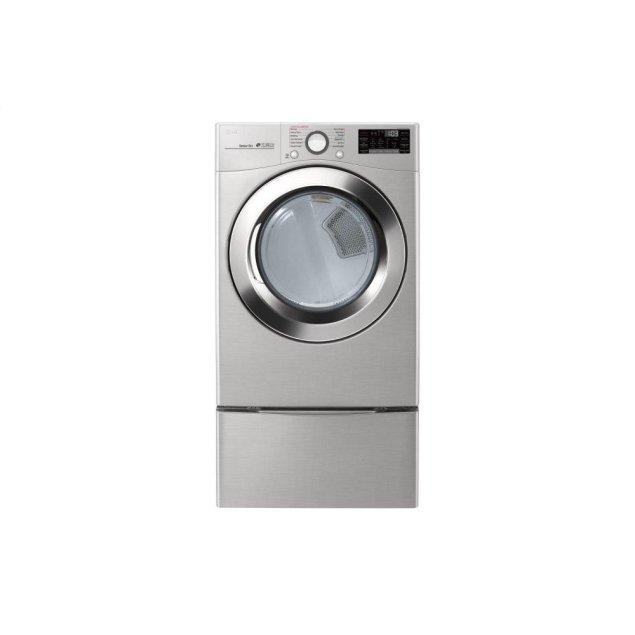 LG Appliances 7.4 cu. ft. Ultra Large Capacity Smart wi-fi Enabled SteamDryer™