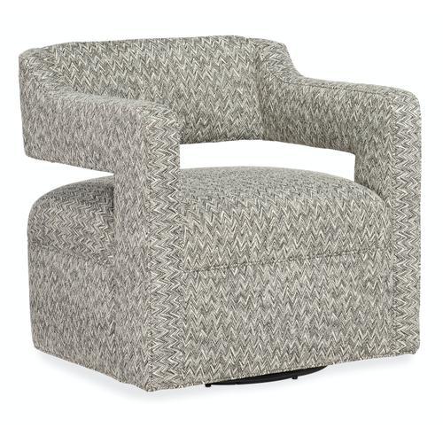 Sam Moore Furniture - Living Room Maleko Swivel Chair - Metal Base