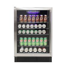 Connoisseur Series 46 Single-Zone Beverage Cooler (Left Hinge)