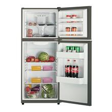 Model FF994PS - 10.1 Cu. Ft. Frost Free Refrigerator - Black w/Platinum Finish Doors
