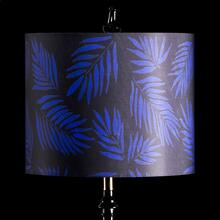 BLUE PALM MIXOLOGY SHADE  SMALL  10in X 12in  Available in three sizes this lighting collection