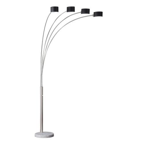 """82.5""""H 4 Arm Arc Floor Lamp"""