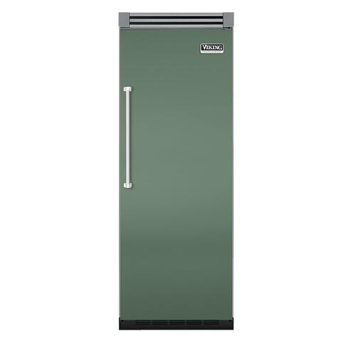 "Viking - Mint Julep 30"" Quiet Cool™ All Refrigerator - VIRB Tru-Flush™ (Right Hinge Door)"