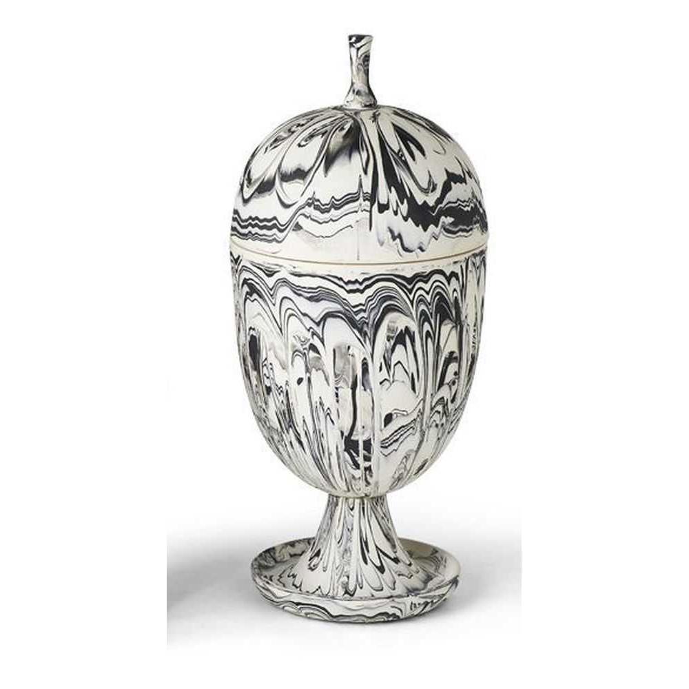 Egg Urn Sepia Agate