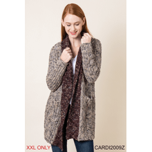 Gone Camping Cardigan - XXL (3 pc. ppk.)