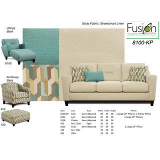 Street Smart Sofa Linen