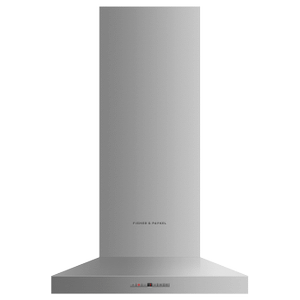 """Fisher & PaykelWall Range Hood, 24"""", Pyramid Chimney"""