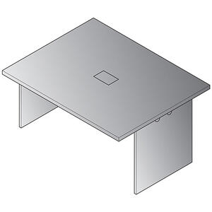 "Expandable 60""x48"" Table Component"