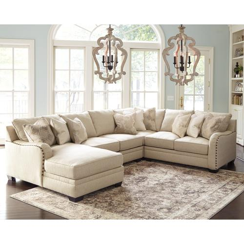 Product Image - Luxora 4-piece Sectional With Chaise