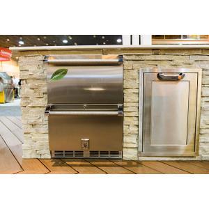 "24"" Hestan Outdoor Refrigerator Drawers - Grr Series - Sol"