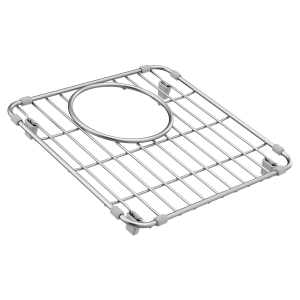 Moen stainless rear drain grid Product Image