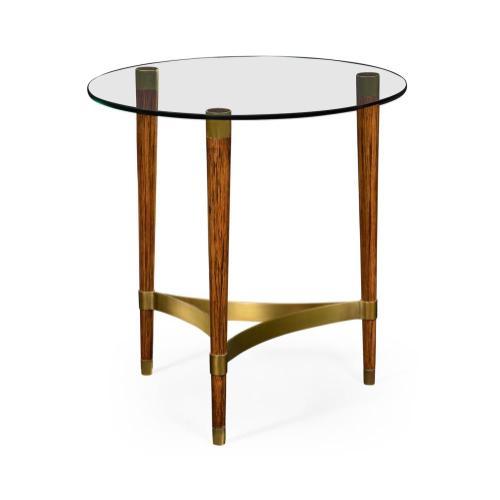 Hyedua wood lamp table