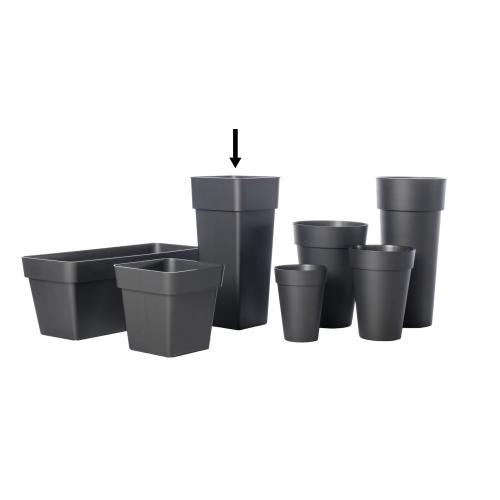 Duo Square Pot w/ container