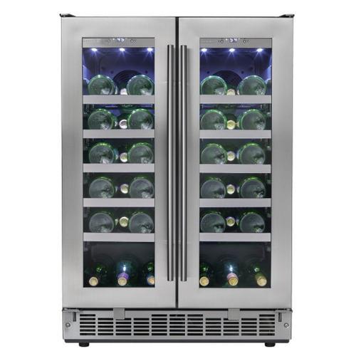 "Silhouette - Napa 24"" French Door Wine Cooler"