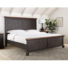 Bear Creek King Bed, Brown