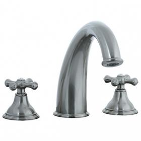 Asbury - 3pc Roman Tub Filler Trim - Aged Brass