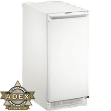 "White Field reversible, no pump 2000 Series / 15"" Clear Ice Machine"