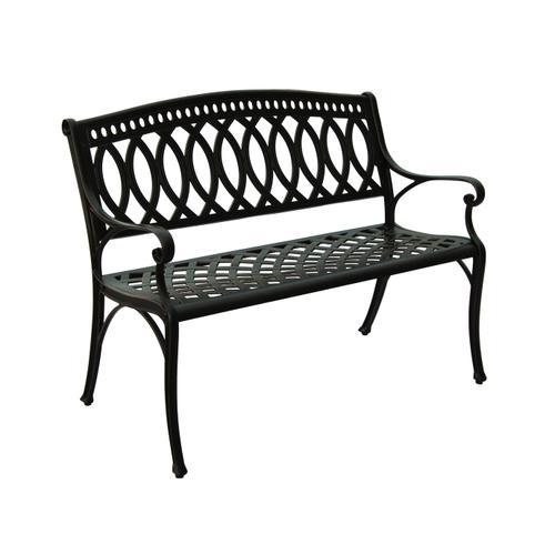 Tullo Cast Aluminum Garden Bench