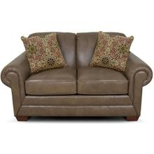 Milly Leather Loveseat