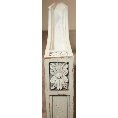 Huntleigh - King/california King Carved Footboard - Vintage White Finish