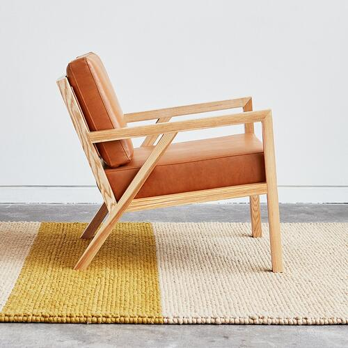 Truss Chair Vegan Appleskin Leather Cognac