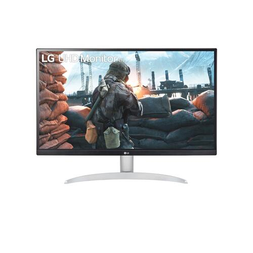 "LG - 27"" IPS 4K UHD Monitor with VESA DisplayHDR 400"