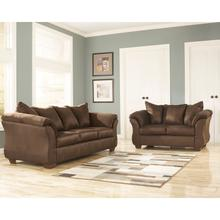 Signature Design by Ashley Darcy Living Room Set in Cafe Microfiber [FSD-1109SET-CAF-GG]