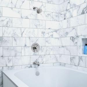 Vichy chrome posi-temp® tub/shower