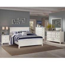 Tamarack White California King Bed