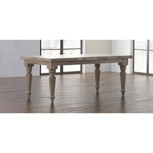 Bassett Furniture - Farmhouse Maple Live Edge Dining Table