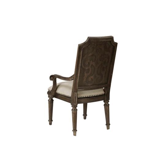 Vintage Salvage Mills Arm Chair