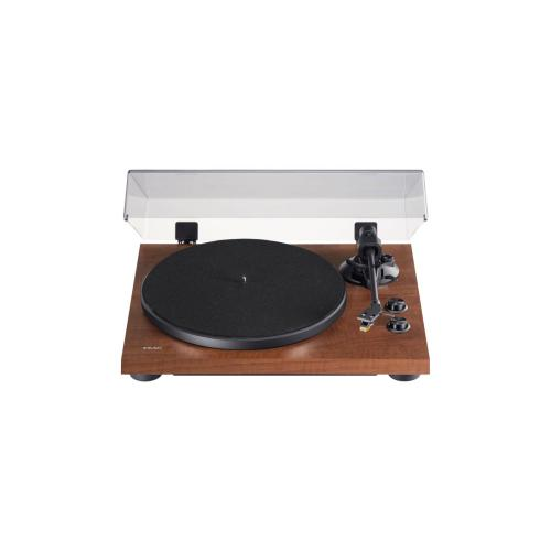 2-speed Analog Turntable with Phono EQ and Bluetooth